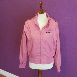 Pink Members Only Jacket